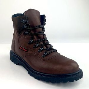 Red Wing Leather Work Ankle Boots 9B Narrow